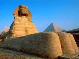 a Esfinge  no Egito